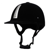 Professional Equestrian Horse Riding Helmet Breathable Durable Unisex Half Cover Flocking Horse Riding Helmet
