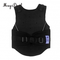 MagiDeal Kids Children Shock Absorption Adjustable Equestrian Horse Riding Vest Protective Waistcoat Body Protector S M L