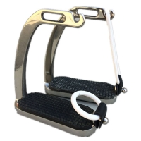 4 5/8 Inches Stainless Steel Peacock Horse Stirrup Horse Equipment F1003