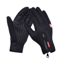 Men And Women Outdoor Mountaineering Fleece Gloves Touch Screen Wind Warm Riding Gloves