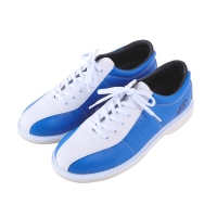Unisex Bowling Shoes Anti-Skid Outsole Leather Training Sneakers Men Women Breathable Wearable Comfortable Shoes D0613