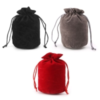 Wholesale Dungeons And Dragons Velvet Dice Bag Jewelry Packing Drawstring Bag Board Game