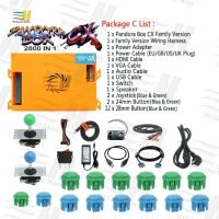 2019 Pandora Box 9D 2226 in 1 arcade version jamma game board HDMI VGA for coin operated game machine support 3P 4P games usb