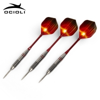 New 3 Pcs/Sets of Darts Professional 24g Steel Tip Dart With Aluminium Shafts Nice Dart Flights High Quality