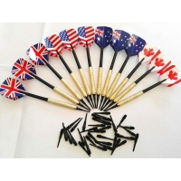 12 Pieces Professional 14 Grams Soft Tip Darts Set with Extra Plastic Tips with 4 Kinds Flights for Electronic Dartboard