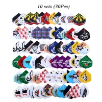 12/30/60/72/90pcs 2D Cool Bling Darts Flights Set Darts Tail Sports Professional Multiple Styles Colorful Dart Accessories
