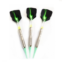 3PCS Green Professional Darts 18g Soft Darts Electronic Soft Tip Dardos For Professional Dartboard Game Only Today Get Free Gift