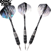 3pcs/Set Professional Tungsten Steel Needle Tip Darts With Dart Flights Sports