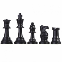32pcs/Set Plastic Chess Set Entertainment Board Game Chess Set Replacement Folding International Chess for Children Party