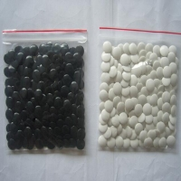 New Foreign Trade Products Small Plastic Weiqi  Small Double Convex  Black and White Mini Chessmen 361 Grains