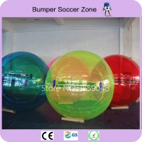 Free Shipping Water Walking Ball Toy Ball Inflatable Human Hamster Ball Germany TIZIP Zipper Of 1.5m Diameter For 1-2 Persons