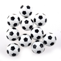 ELOS-New 20pcs 32mm Plastic Soccer Table Foosball Ball Football Durable Table Game Accessories