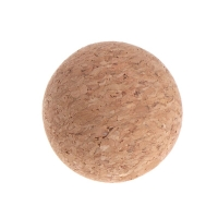 1pc 36mm Cork Solid Wood Foodball Baby Foot Fussball  Table Soccer Ball