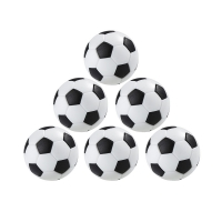 Balck  White 4PC/Pack Table Football Practical Indoor Table Game Soccer Table Entertainment Football Tool Kid Play Toy Equipment