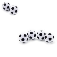 New Foosball Table Football  Round Indoor Games Plastic Soccer Ball Football Fussball Soccerball Sport Gifts 32mm 4 Pcs