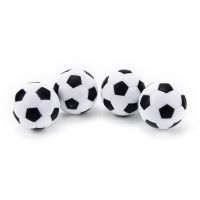 New 4 Pcs 32mm Plastic Soccer Ball Football Fussball Soccerball Sport Gifts Round Indoor Games Foosball Table Football