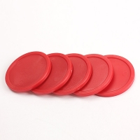 New Arrival 5Pcs Red ABS 2-inch Mini Air Hockey Table Pucks 50mm Puck Adult Table games entertaining toys