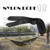 Tree Swing Hanging Kit Hammock Straps Extra Long Capacity Outdoor Camping Hiking Hammock Hanging Belt Nylon Strap Hanger