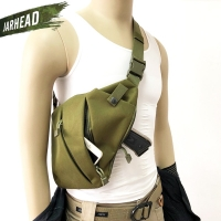 Outdoor Tactical Storage Gun Holster Shoulder Bags Men Anti-theft Chest Bag Nylon Sports Hunting Crossbody Pistol Bag