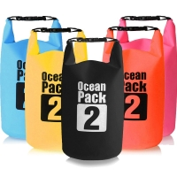 2L Waterproof Water Resistant Dry Bag Sack Storage Pack Pouch Swimming Outdoor Kayaking Canoeing River Trekking Boating