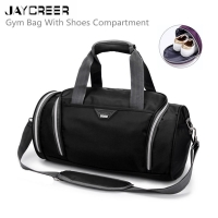JayCreer Athletic Bags Sports Gym Bag With Shoes Compartment Travel Duffel Bag For Men and Women 4 Colors