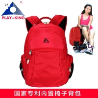 Playking Fishing chair outdoor portable folding stool backpack/High quality portable folding fishing chair backpack