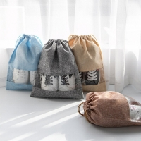 Shoes Storage Bag Sport Athletic Bags Non-woven Dust-proof Dual Drawstring Outdoor Camping Travel Carrying Cosmetics Toys
