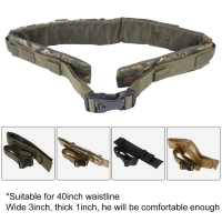 Outdoor Airsoft Hunting Tactical 25 Shotgun Shell Bandolier Belt 12 Gauge Ammo Holder Military Shotgun Cartridge Belt