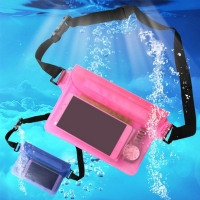 CRUSHONU Waterproof Sports Bag Waist Bag For Swimming Drifting Diving Waist Fanny Pack Pouch Underwater Dry Phone Pocket