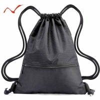 Large Drawstring backpack Men Women Fitness Gym Bag Outdoor Travel Waterproof Nylon String Backpack for Running Swimming Hiking