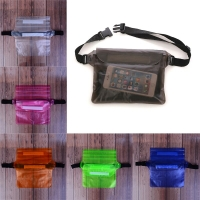 Swimming Drifting Diving Surfing Waterproof Sports Bag Waist Bag Waist Pack Pouch Underwater Dry Shoulder Backpack Phone Pocket