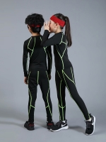 Children's boy sports suit quick-drying wicking compression fitness training MMA suit boy girl sportswear jogging suit