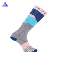VECTOR Winter Warm Ski Socks Children Men Women Thick Wool Sports Snowboard Soccer Cycling Skiing Riding Basketball Hiking Sock