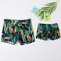 2020 New Swimsuit  Baby Boys Swimming Trunks Dad and Me Beach Shorts Family Beachwear Board Trunks Surfer Swimwear Short Pants