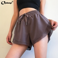 Women Cozy Banded Waist Running Fitness Workout Shorts Stretchy Athletic Skirt Tennis Quick Dry Active Skorts with Shorts Inner