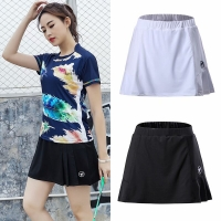 Summer Sports Skirt with Shorts Badminton Table Tennis Women Skorts Breathable Anti Leakage Yoga Golf Jogging Skirts