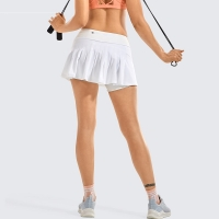 Women's Athletic Tennis Golf Skirts Pleated Shorts Sport Skort with Pocket