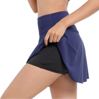 EAST HONG Women's Sports Tennis Skort Running Tennis Golf Skirt Active Athletic Yoga Fitness Skirts