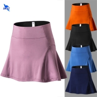2020 Summer High Waist Sports Skirts with Safety Stretch Shorts Quick Dry Yoga Fitness Tennis Badminton Running Skirt Anti Glare