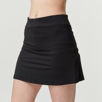 Women Fitness Sports Skirt High Waist Sports Skort  Marathon Running Tennis Skort Fake Two-piece Pieces Skirt Pleated Skirt