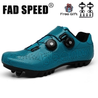 FAD SPEED New Cycling Shoes Mountain Bike Shoes MTB Road Cycling Breathable&Waterproof Self-Locking Shoes Athletic Bicycle Shoes