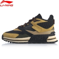 Li-Ning Men 001 T1000 WINTER Stylish Lifestyle Shoes Retro LiNing Support Sport Shoes Wearable Sneakers AGLP079 SOND19