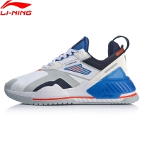 Li-Ning Men 001 T2000 The Trend Stylish Shoes TPU Support Anti-Slippery LiNing Retro Sport Shoes Sneakers AGLQ019