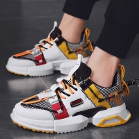 New Mesh Men Casual Shoes Lac-up Men Shoes Lightweight Comfortable Breathable Trainers Walking Sneakers Tenis Feminino Zapatos