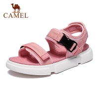 CAMEL Official Original Summer Men Women Sandals Non-slip Thick Soled Outdoor Man Leisure Shoes Woman Fashion Beach Sandals