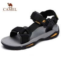 CAMEL Large Size Men Women Outdoor Sandals Summer Casual Comfortable Waterproof Anti-slip High Quality Beach Fishing Sandals
