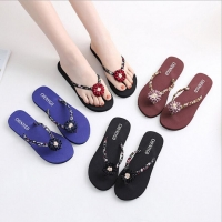 2018 Beach Sandals Ladies Slim Women Beach Flip Flops Flipflops Sandals Shoes Bath Slippers Sandals 0731