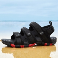 2021 Summer Sandals For Man Black Water Shoes Flat Rubber Sole Sandals Big Brand Outdoor Spotrs Sneaker School Boys Shoes
