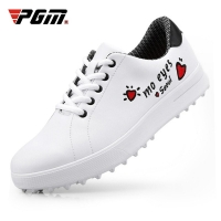 PGM Women Golf Shoes Women's Leisure Non-slip Fixed Nail Sneakers Waterproof Printing Girls Sports Golf Shoes