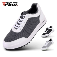 PGM Mens Golf Shoes Breathable Mesh Golf Shoes Men Anti-slip Spikesless Outdoor Sneakers Men Sport Training Golf Shoes